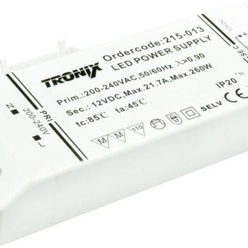 Tronix Power Supply | 12V | 264W | Block type indoor | 2 jaar garantie