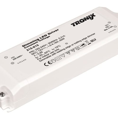 Tronix Power Supply | 12V | 50W | Triac Dimbaar | Indoor