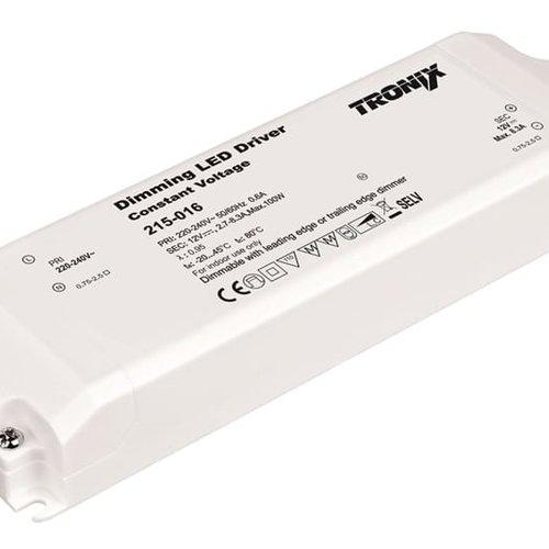 Tronix Power Supply | 12V | 100W | Triac Dimbaar | Indoor