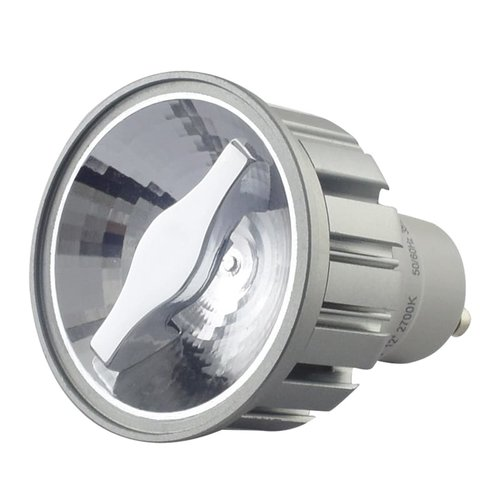 Tronix LED Spot GU10 | Zilver | 5W | 2700K | CRI>92