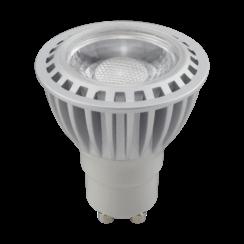LED Spot GU10 | Zilver | 5W | 2000~2700K | Vlam Kleurig | CRI>97
