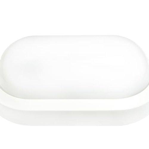 Tronix LED Wandlamp   Oval   197x112mm   3000K   IK10   Wit   2 jaar garantie