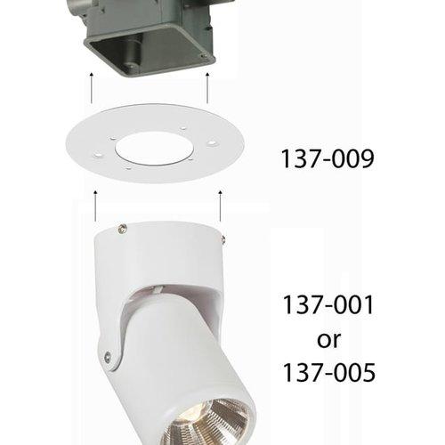 Tronix LED Spotlight Verstelbaar 360 | 15 Watt | 3000K | Wit