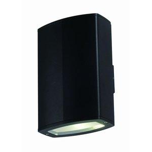 Tronix LED Wandlamp | Zwart | 2x 10W | Dubbel