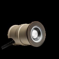 Grondspot| 24V | 55mm | Bronzen Ring | 2W | 3000K (2 jaar garantie)