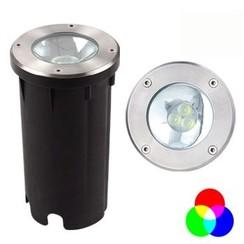 Grondspot | 120mm | 6,5 Watt | Rood, groen & blauw (2 jaar garantie)