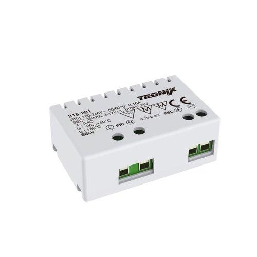 Tronix Mini LED Driver | 6 Watt | 350mA | Binnen (2 jaar garantie)