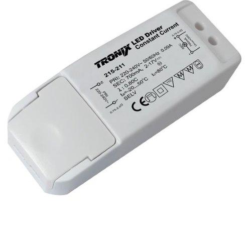 Tronix LED Driver | 700mA | 12 Watt | Niet Dimbaar (2 jaar garantie)