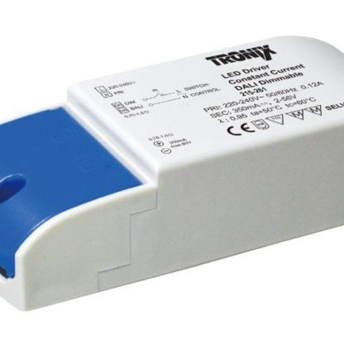 Tronix LED Driver | 350mA | 20 Watt | Dali Dimbaar (2 jaar garantie)