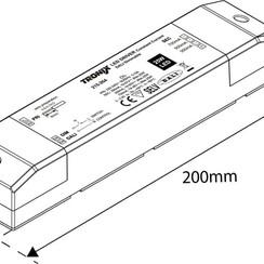LED Driver | 350/500/700mA | 25 Watt | Dali Dimbaar (2 jaar garantie)