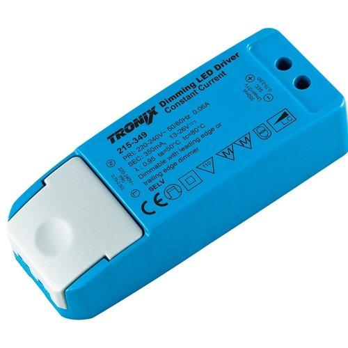 Tronix LED Driver | 350mA | 9 Watt | Triac Dimbaar (2 jaar garantie)
