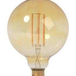 LED Filament lamp G95 | 4 Watt | 2200K | Vintage | Dimbaar (2 jaar garantie)