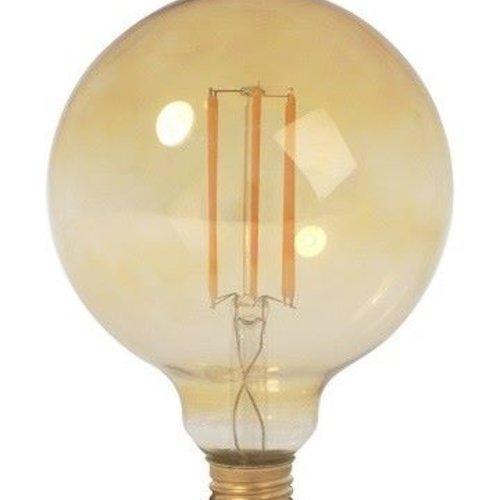 Tronix LED Gloeidraad lamp G95 | 4 Watt | 2200K | Vintage (2 jaar garantie)