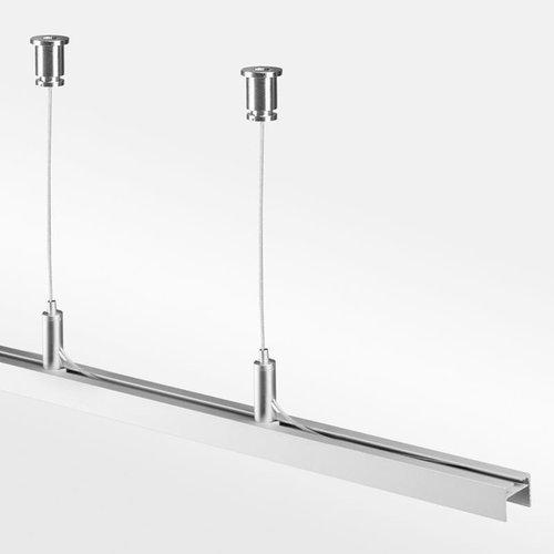 Tronix Kabel Ophang kit voor PL10 |tot aan 150 cm | 2 kabels (2 jaar garantie)