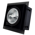 Tronix Trimless Inbouwspot | Zwart | AR111 | 2 Jaar Garantie