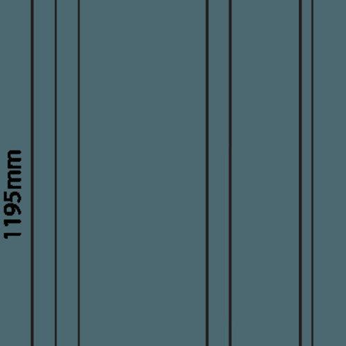 Tronix Dimbaar LED Paneel | 30x120 | >100Lm/W | 4000K | Wit Frame |