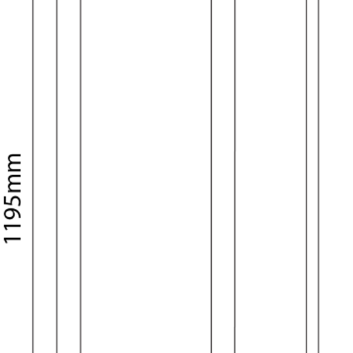 Tronix LED Paneel | 30*120 | >120Lm/W | 3000K | Wit Frame | 1-10V | 2 jaar garantie