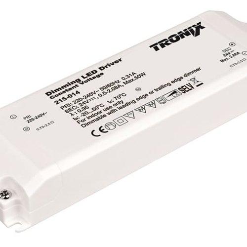 Tronix Power Supply | 24V | 50W | Triac Dimmable | Indoor | 2 jaar garantie