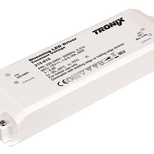 Tronix Power Supply | 12V | 50W | Triac Dimmable | Indoor | 2 jaar garantie