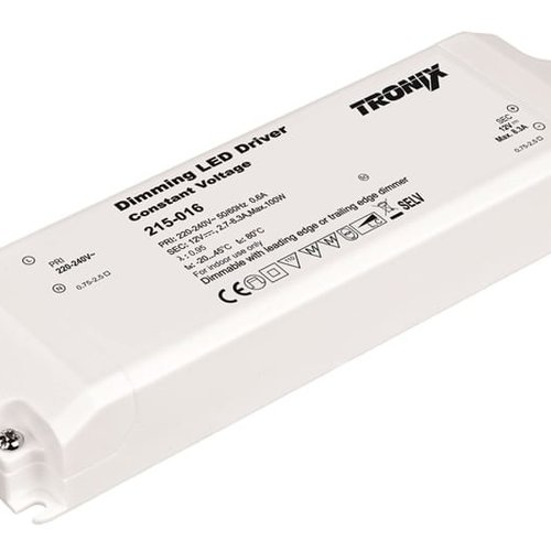 Tronix Power Supply | 12V | 100W | Triac Dimmable | Indoor | 2 jaar garantie