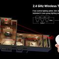 Mi-Light Afstandsbediening 2.4GHz 4 Zone Rotating Wheel | 2 jaar garantie