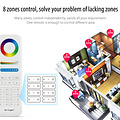 Mi-Light Afstandsbediening 8-Zone RGB+CCT | 2 jaar garantie