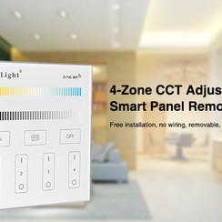 4-Zone CCT Smart Panel afstandsbediening
