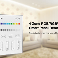 Smart Panel afstandsbediening 4-Zone RGB/RGBW