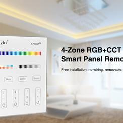 Smart Panel afstandsbediening 4-Zone (RGB+CCT)