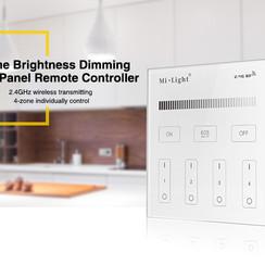 Brightness Dimming Smart Panel Afstandsbediening 4-Zone