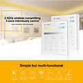 Mi-Light Adjust Smart Panel Afstandsbediening 4-Zone CCT | 2 jaar garantie