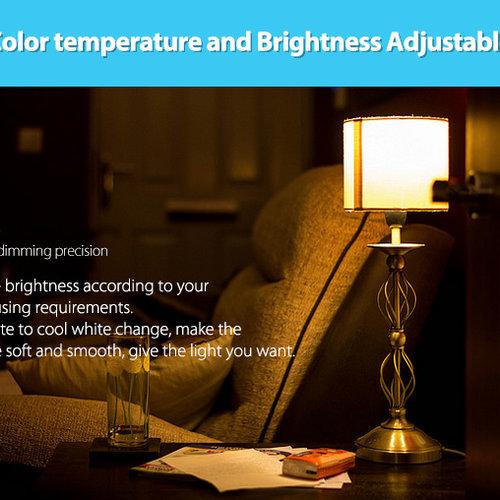 Mi-Light Milight B8 | 8-Zone Paneel Wandbediening RGB+CCT | 2 Jaar Garantie
