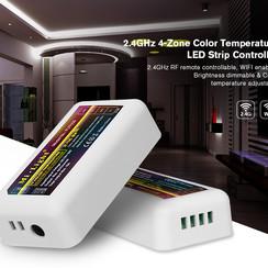 2.4GHz 4-Zone Color Temperature LED Strip Controller