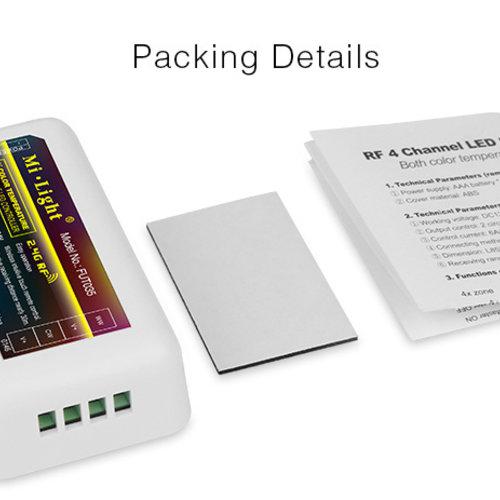 Mi-Light 2.4GHz 4-Zone RGB LED Strip Controller | 2 jaar garantie