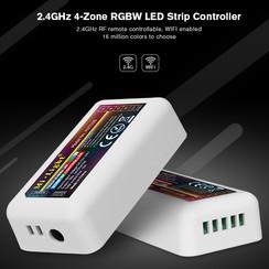 2.4GHz 4-Zone RGBW LED Strip Controller