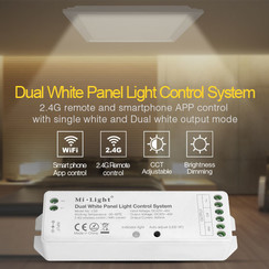 Dual White Panel Light Control System