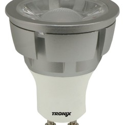 LED Spot GU10 | Zilver | 5W | 4000K | Dimbaar