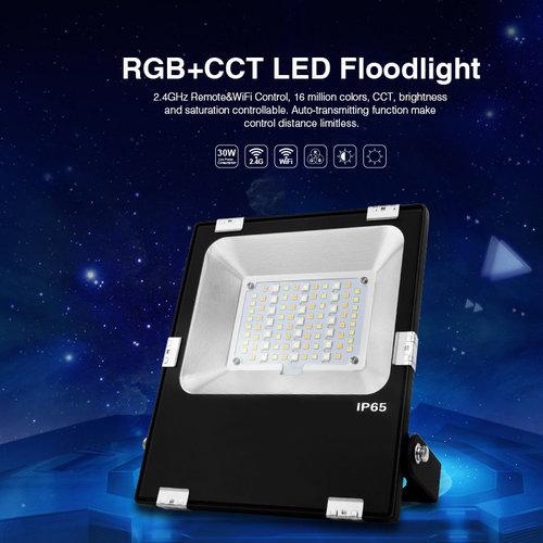 Mi-Light 30W RGB+CCT LED Floodlight/Breedstraler | 2 jaar garantie