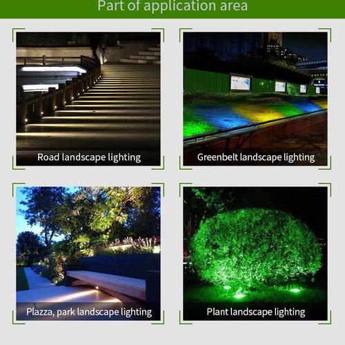 Mi-Light 9W RGB+CCT LED Tuinverlichting | 2 jaar garantie