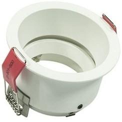 Universele standaard | 50mm | White | Flush Mounted | Verstelbaar