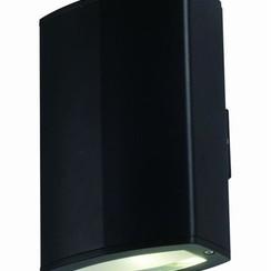 LED Wandlamp | Zwart | 2x 10W | Dubbel
