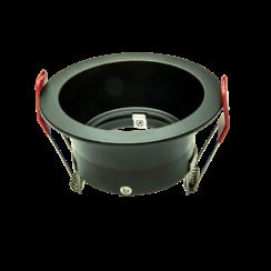 Universele Standaard   50mm   Zwart   Flush Mounted   85mm