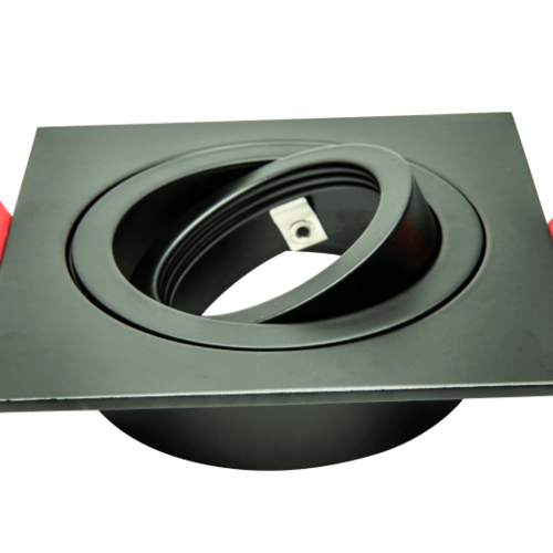 Tronix Architectural | Plate ECO | Zwart | Vierkant Verstelbaar | 2 jaar garantie