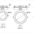 Tronix Rond LED Paneel | Ecologisch | Witte kleur | 12 Watt |3000K | Niet dimbaar | (2 jaar garantie)