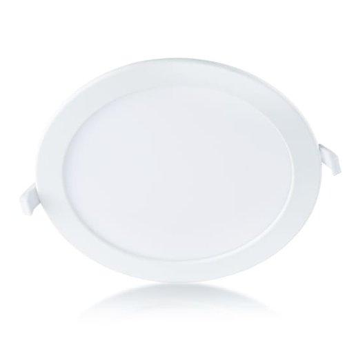 Tronix Rond LED Paneel | Ecologisch | Witte kleur | 18 Watt |4000K | Niet dimbaar | (2 jaar garantie)