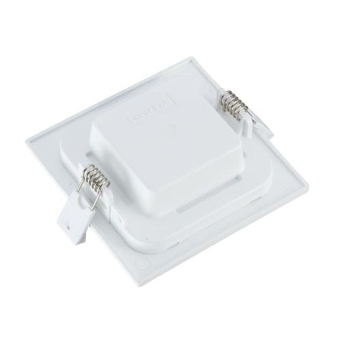 Tronix Vierkant LED Downlight ECO | Witte kleur | 6 Watt | 3000K | Niet dimbaar | 2 Jaar Garantie
