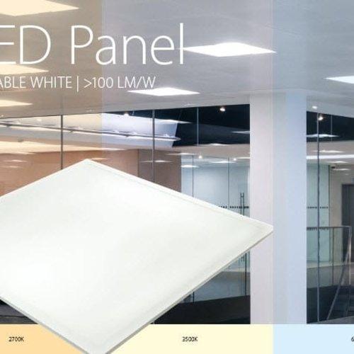 Tronix Niet Dimbaar LED Paneel | 60x60cm| Aanpasbaar & Instelbaar | 100L/W (2 jaar garantie)