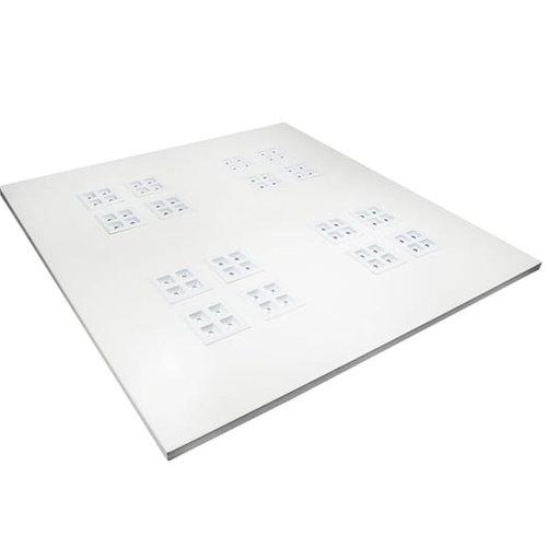 Tronix Dimbaar LED Paneel | 60x60 cm | 3000K| 1-10V (2 jaar garantie)