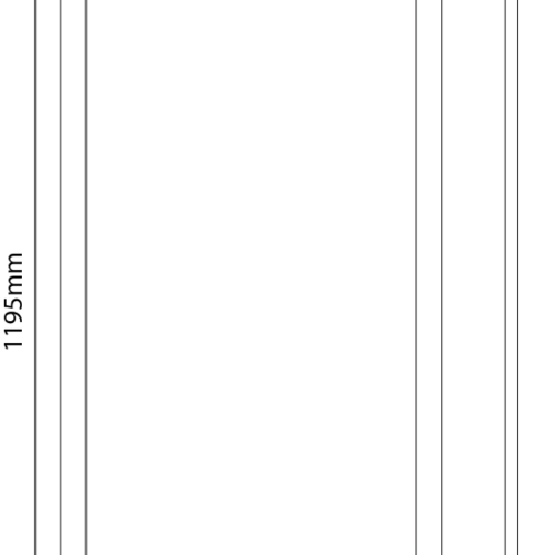 Tronix Dali Dimbaar LED Paneel | 30x120 cm| 4000K (2 jaar garantie)