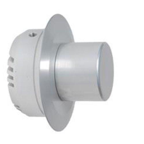 Tronix Dimmer 1-10 Volt | Brushed Aluminium | Round (2 jaar garantie)